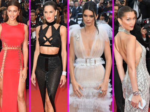 PHOTOS. Cannes 2018:  Lais Ribeiro, Sara Sampaio, Doutzen Kroes. Les Anges Victoria's Secret envahissent le tapis rouge