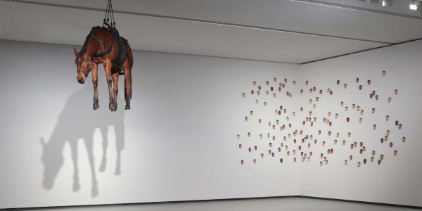 Cattelan Exhibited at Louis Vuitton's Foundation