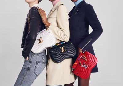 ELLEfashioncrush:  les sacs 80's « Louis Vuitton New Wave »