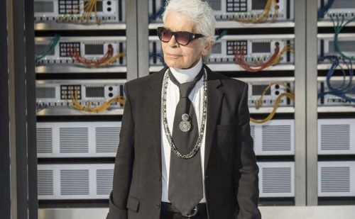 Karl Lagerfeld:  15 moments de franchise