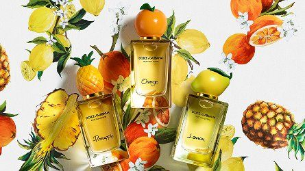 Dolce & Gabbana Lemon, Orange & Pineapple ~ new fragrances