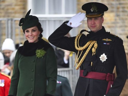 PHOTOS. Kate Middleton et le prince William célèbrent la Saint-Patrick