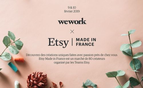 """Le pop-up store """"Etsy Made in France"""" s'installe à Paris"""