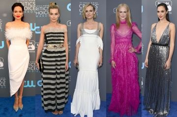 Margot Robbie, Gal Gadot. Le meilleur des looks des stars aux Critics Choice Awards