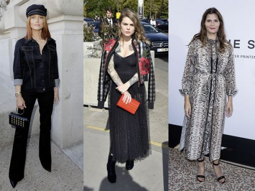 PHOTOS. Caroline Receveur, Coeur de Pirate, Chantal Thomass. les people au défilé d'Elie Saab