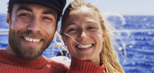 PHOTO. James Middleton, amoureux, officialise sa relation sur Instagram