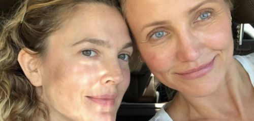 PHOTO. Drew Barrymore et Cameron Diaz s'affichent sans maquillage