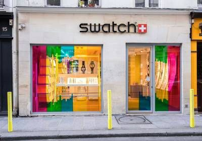 ELLEfashionspot:  le pop-up arty de Swatch