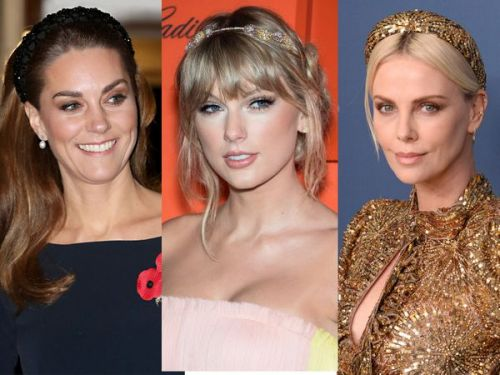 Charlize Theron, Kate Middleton, Hailey Bieber:  elles ne se séparent plus de leur serre-tête !