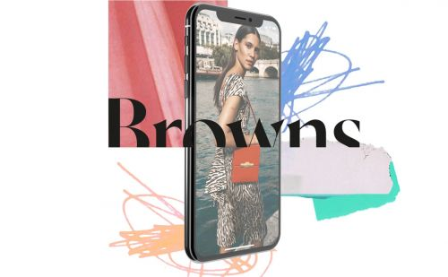 Browns dévoile son application mobile