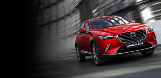 Une version restylée du Mazda CX-3