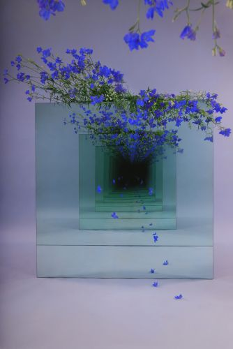 A Poetic Mirrored Installation