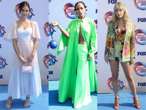PHOTOS. Taylor Swift, Jennie Garth : les plus beaux looks des Teen Choice Awards 2019
