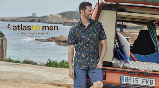 ATLAS FOR MEN:  nouvelle collection, le pacifique dans son dressing