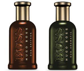 Boss Bottled Oud Saffron & Boss Bottled Oud Aromatic ~ new fragrances