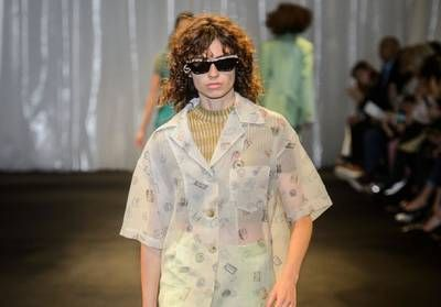Fashion Week:  les 70's funky d'Acne Studios
