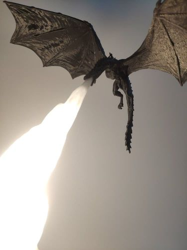 A 3D Printed Dragon Lamp Inspired by Game of Thrones