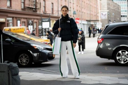 See what the models are wearing off-duty during NYFW Day 4