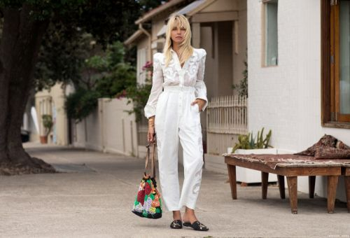 A Street Style With Anna Feller