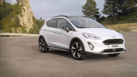 La Ford Fiesta Active 2018