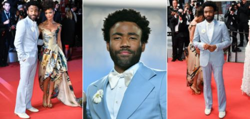 On aime : l'allure dandy romantique de Donald Glover à Cannes