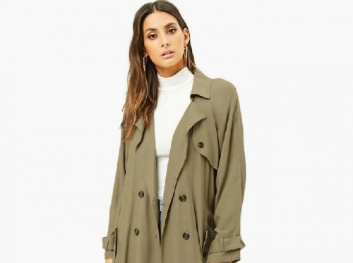 Wanted:  le trench coat kaki Forever 21