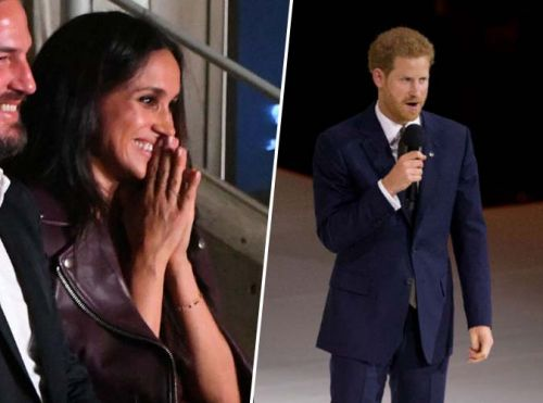 Public Royalty:  Meghan Markle:  une robe à 120 euros pour applaudir le prince Harry !