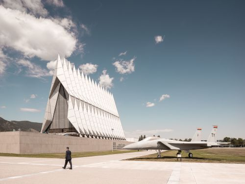 The Remarkable Cadet Chapel by Thibaud Poirier