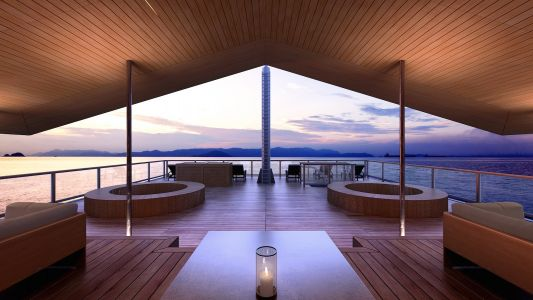 Luxury Floating Hotel of Japan's Seto Inland Sea