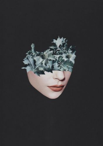 Sensual and Evocative Collages by Rozenn Le Gall