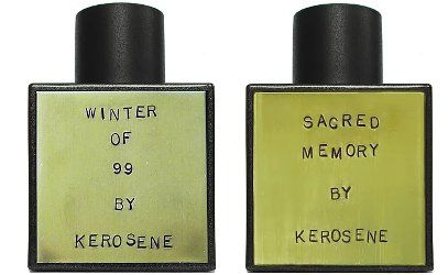 Kerosene Winter of 99 & Sacred Memory ~ new fragrances