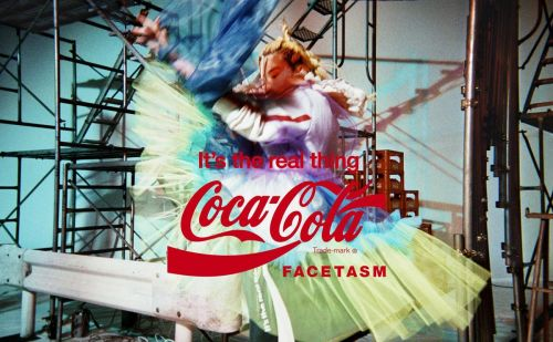 Facetasm s'inspire de l'univers vintage de Coca Cola pour sa nouvelle collection