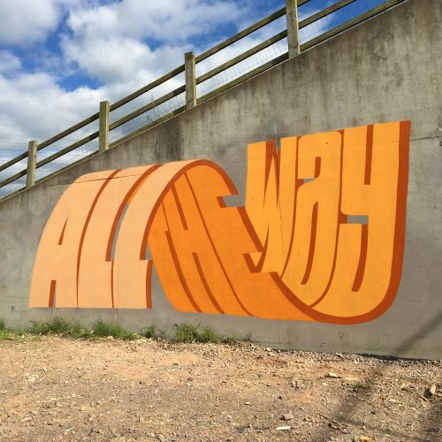 This Street Artist Uses Incredible 3D Typography
