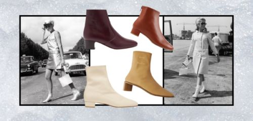 Shopping : 7 bottines sixties pour une silhouette vintage