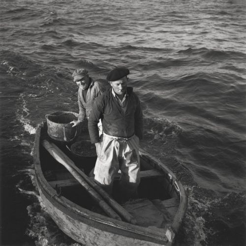 Seaside Life on the French Coast by Robert Doisneau