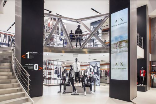 ARMANI EXCHANGE S'INSTALLE A ANVERS