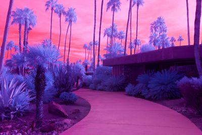 Surreal Californian Landscapes in Infrared