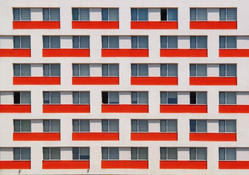 Colorful Minimalist Architecture Shots