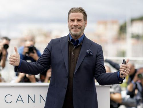PHOTOS. Cannes 2018:  John Travolta, son incroyable métamorphose physique