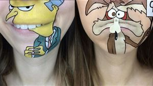 Disney, mangas, cartoons: les maquillages de cette blogeuse cartonnent sur le net