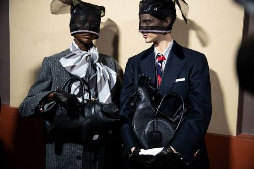Thom Browne's Apocalyptic Ark Bundles Up