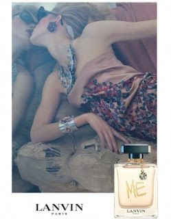 """ISELIN STEIRO for Lanvin """"Me"""" fragrance campaign by Steven Meisel"""
