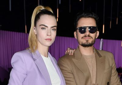 Fashion Week de Milan: Cara Delevingne, Orlando Bloom. au défilé Hugo Boss