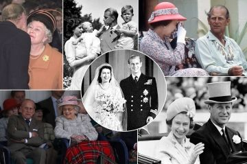 Elizabeth et Philip, 70 ans d'amour en 50 photos