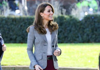 Kate Middleton:  son apparition remarquée à Londres avec le prince William