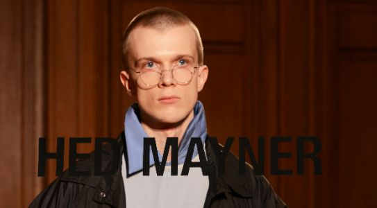 HED MAYNER - Fashion Week Paris - Automne-Hiver 2018