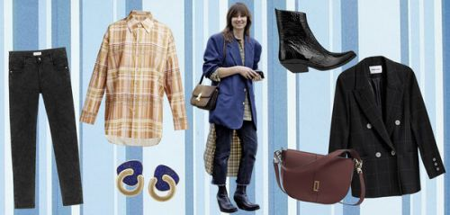 Acne, Molly Bracken, Lancel. on s'inspire du style de Vanessa Coyle