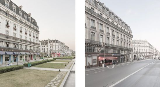 Revealer Snapshots of Paris and Its Chinese Replica