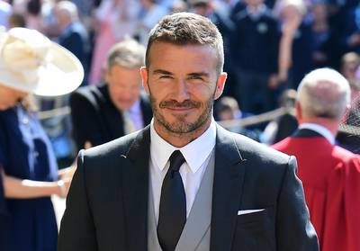 Mariage du prince Harry et Meghan Markle:  le touchant message de David Beckham