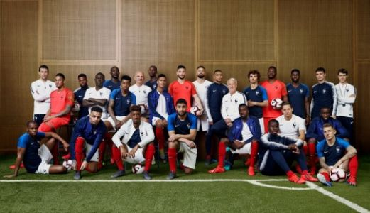 Equipe de France - photo officielle - JF Robert pour la FFF